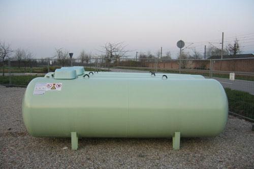 Gastank oberirdisch 4850 Liter Jung Flüssiggas