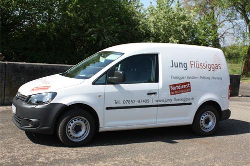 Jung Flüssiggas Servicewagen