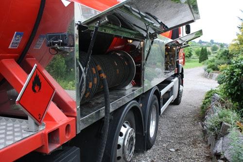 Jung Flüssiggas Tankfahrzeug